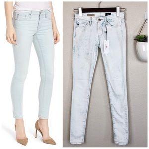 •AG•Acid Wash Absolute Legging Extreme Skinny Jean